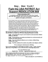Fight the Patriot Act